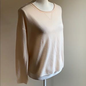 Joie- Baby Pink 💯 Percent Cashmere Sweater